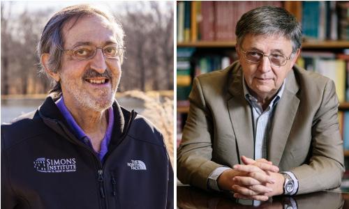 Avi Wigderson and László Lovász.